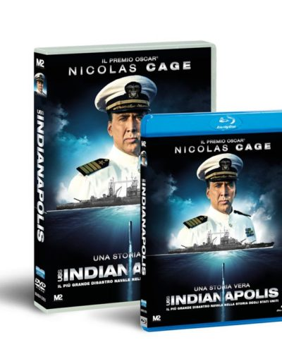USS Indianapolis (2017) / home video graphics / Eagle Pictures - M2 Pictures