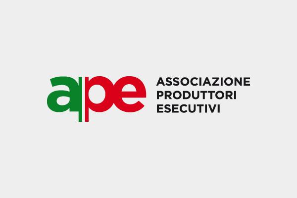 APE associazioni produttori esecutivi / logo & corporate identity / 2014
