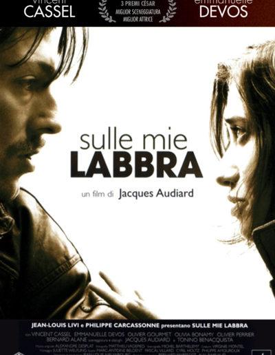 Sulle Mie Labbra (2002) / it movie poster / artwork /  Nexo