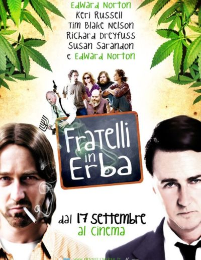 Fratelli in Erba (2010) / it movie poster / artwork, naming / Eagle Pictures