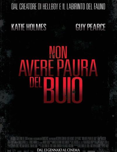Non avere paura del buio (2011) / teaser poster / Lucky Red