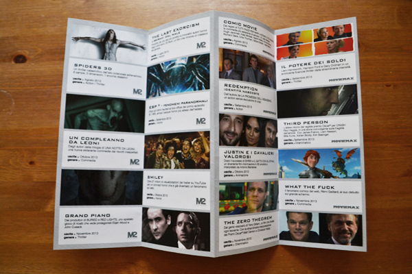 M2 Pictures  / Line-up Brochure