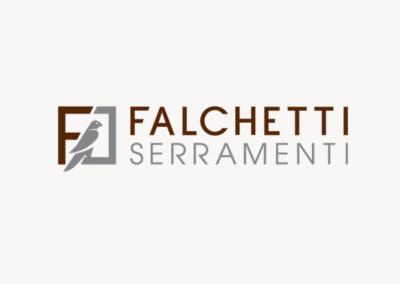 Falchetti Serramenti / Logo design