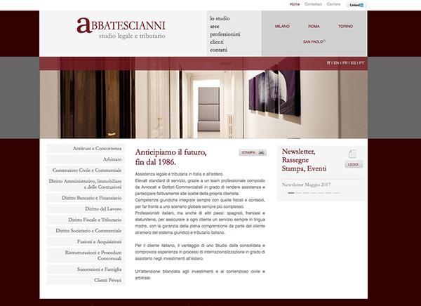 abbatescianni / web design