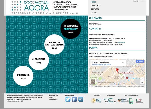 doc & factual agora / web design