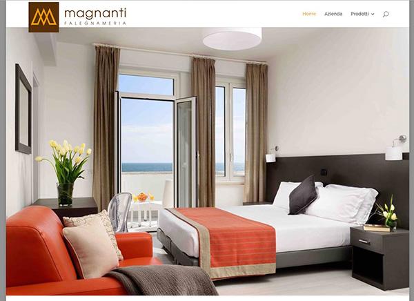 Magnanti Falegnameria / web design