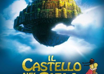 Il Castello nel cielo (2012)  / it movie poster / Artwork