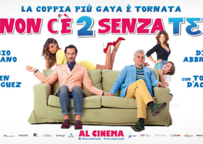 Non c'è due senza te (2016) / artwork / M2 Pictures