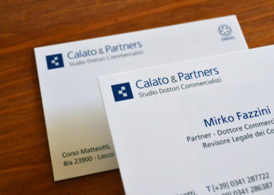 Calato & Partners / Corporate identity / 2015
