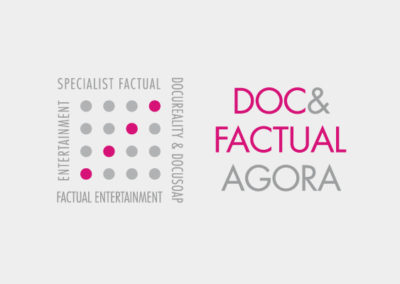 logo design / doc & factual agora / 2015