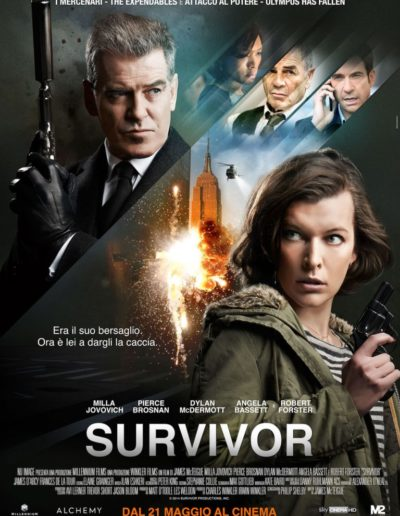 Survivor (2015) / artwork / M2 Pictures