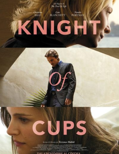 Knight of cup (2016) / localization / 2016 / Lucky Red