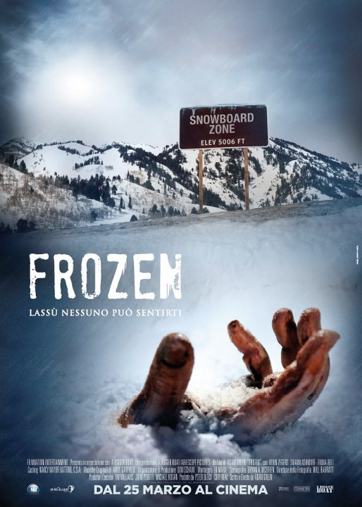 Frozen (2010) / Teaser poster / M2 Pictures