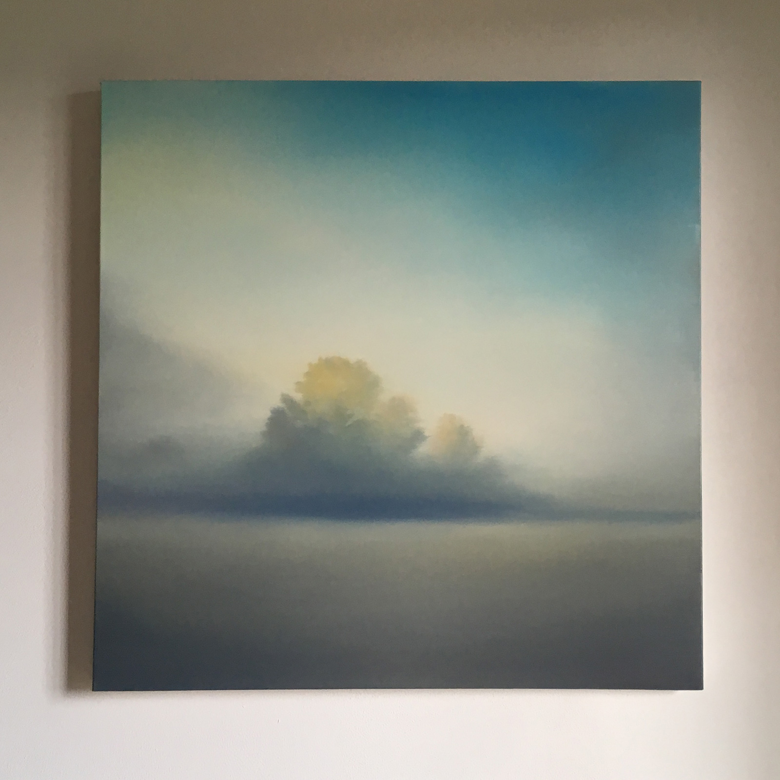 T#108-2018, oil on canvas, 60x60cm, priv. coll.