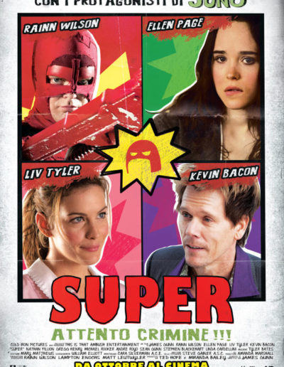 Super - Attento Crimine (2011) / artwork / M2 Pictures