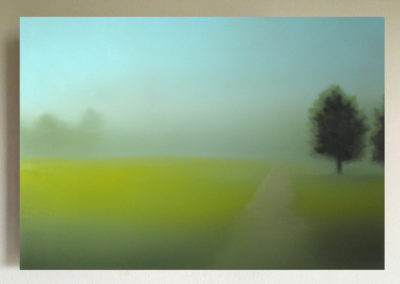 T#01 2007 oil on canvas 70x100cm - private collection