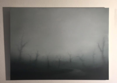 T#133 2019 oil on canvas 80x110cm