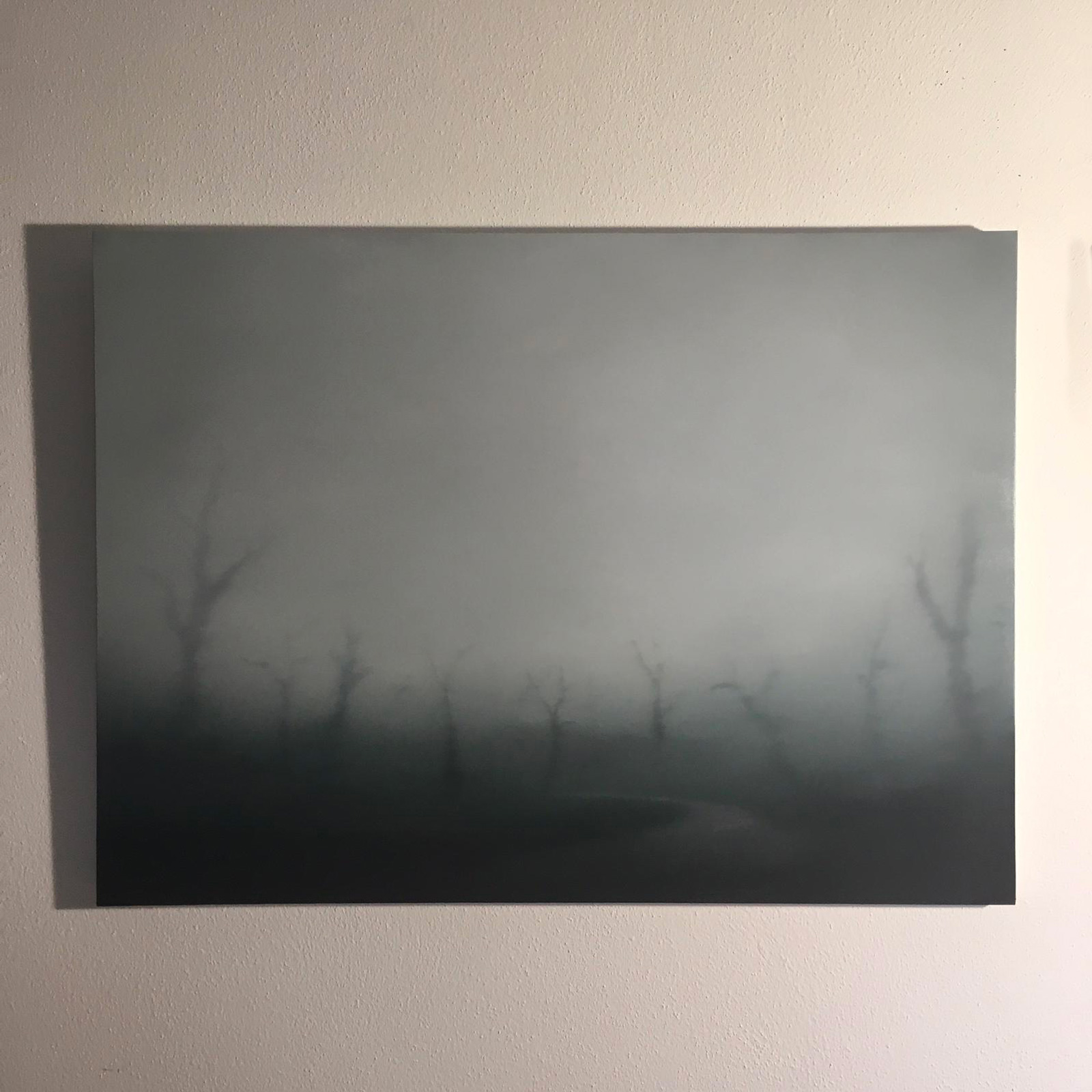 T#133-2019, oil on canvas, 80x110cm