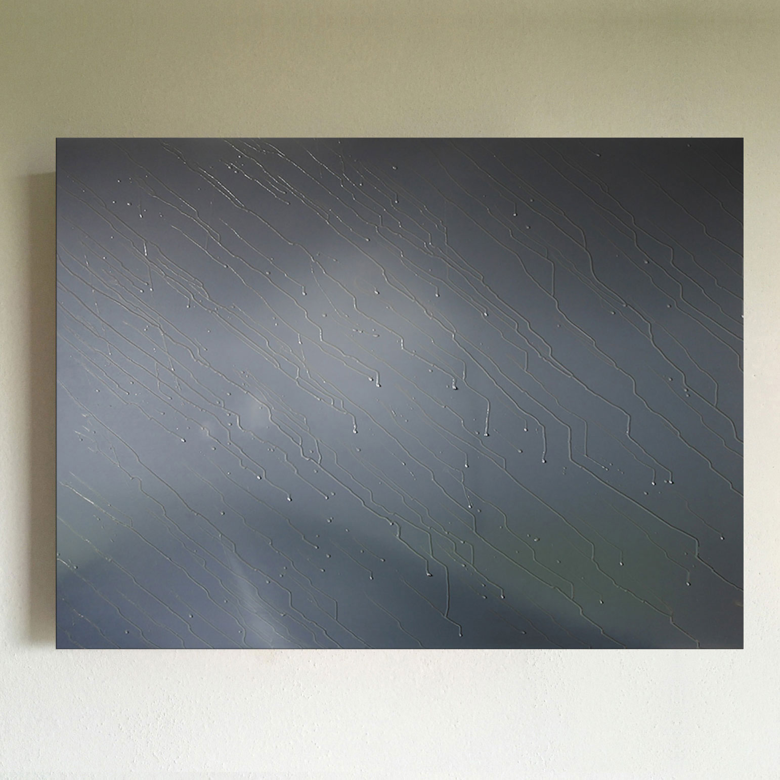 T#37-2009, mixed media on canvas, 70x100cm, priv. coll.