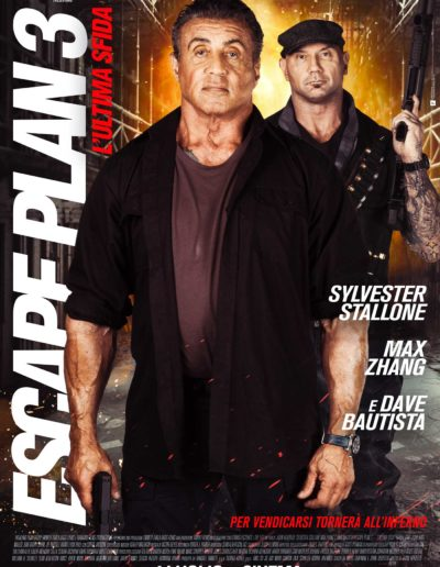 Escape Plan 3 (2019) / artwork / M2 Pictures