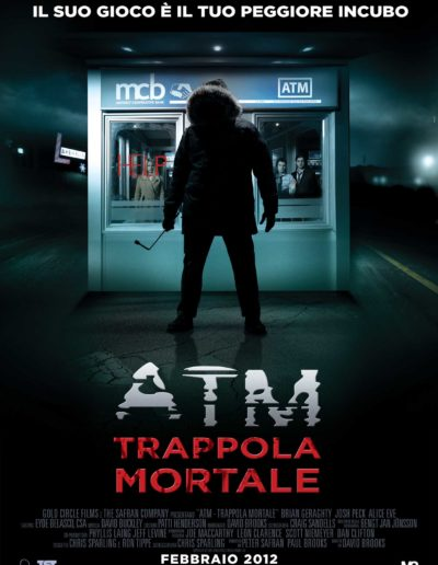 ATM trappola mortale (2012) / artwork / M2 Pictures