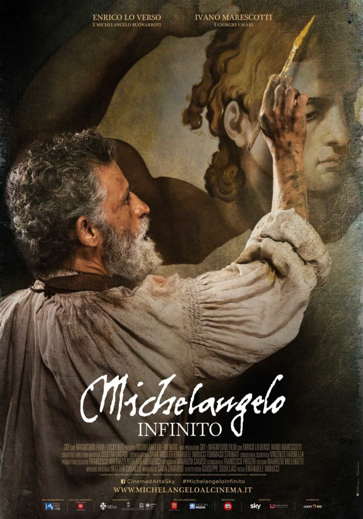 Michelangelo - Infinito (2018) /  artwork / Lucky Red