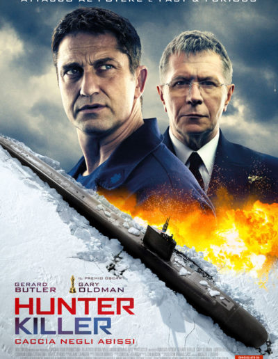 Hunter Killer (2018) / artwork / Eagle Pictures