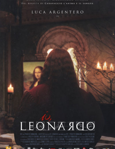 Io Leonardo (2019) /  teaser artwork / Lucky Red