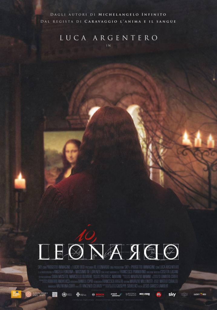 Io Leonardo (2019) /  teaser artwork / Lucky Red
