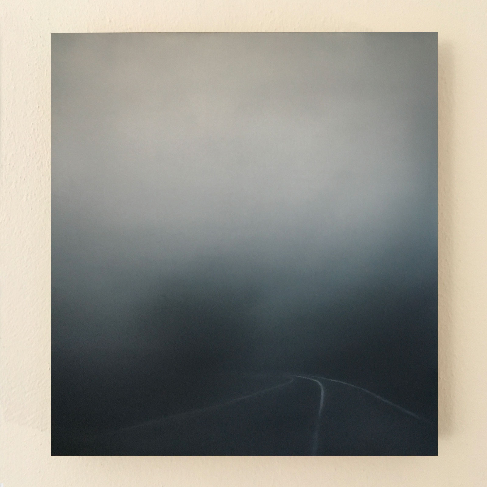 T#142-2019, oil on canvas, 80x73cm