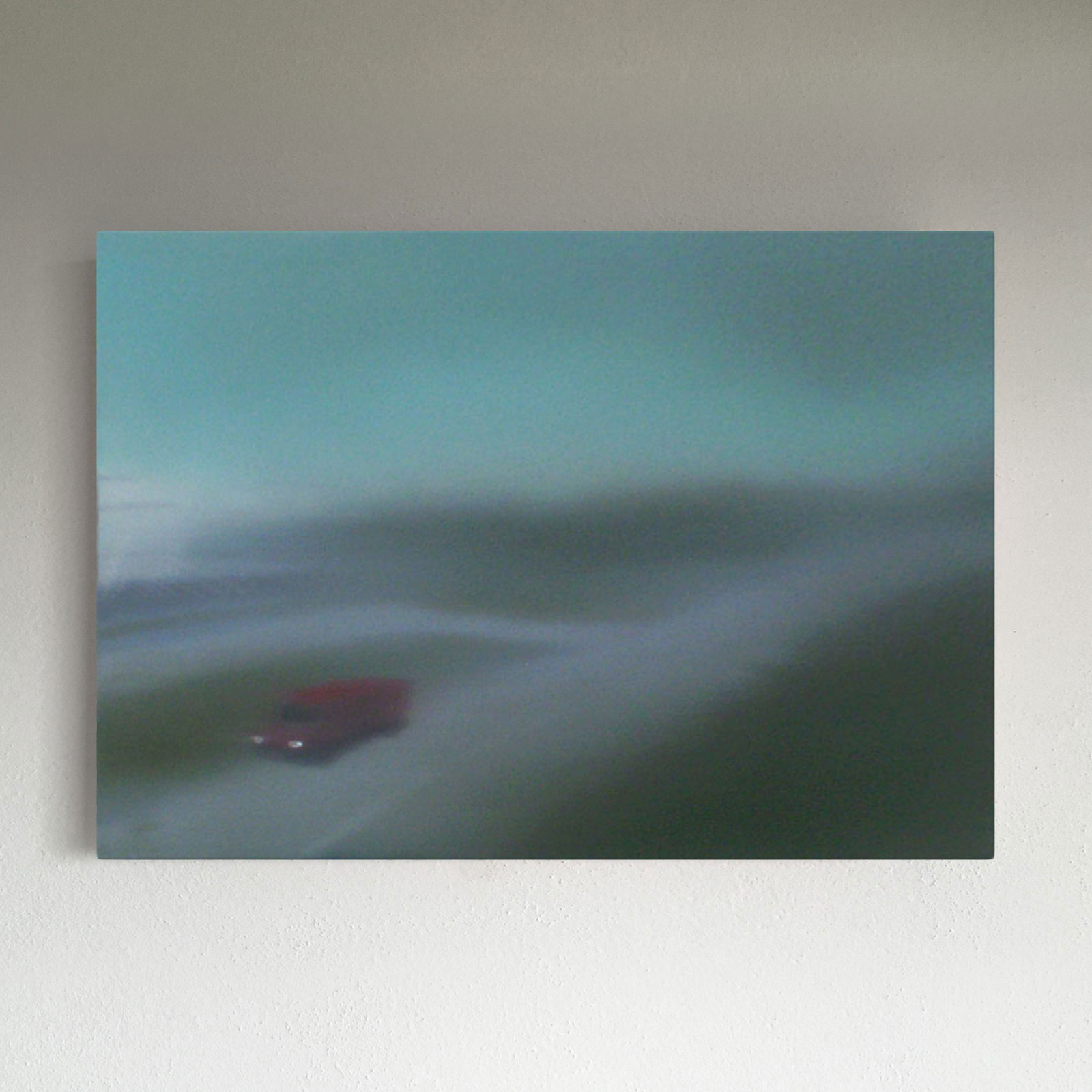 T#11-2008, oil on canvas, 70x100cm, private collection