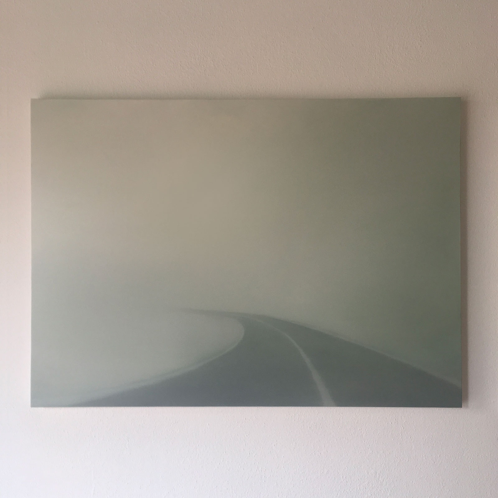 T#128-2018, oil on canvas, 80x110cm