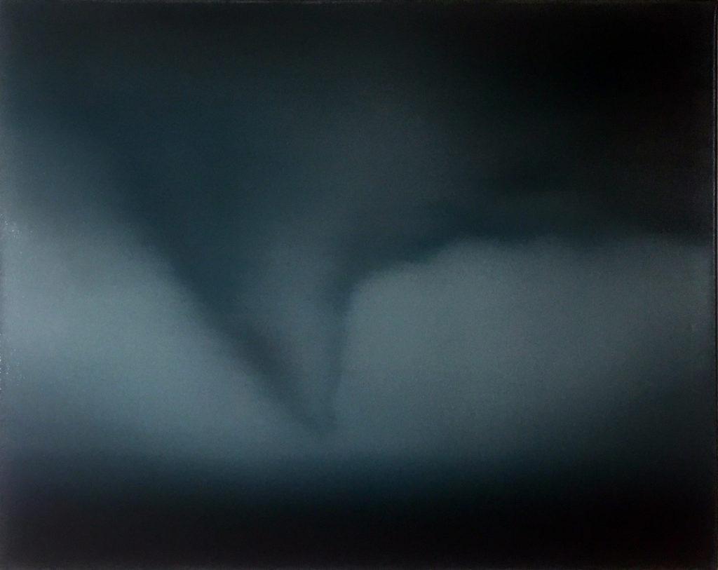 #146-2019 (Tornado study) oil on canvas 40x50cm