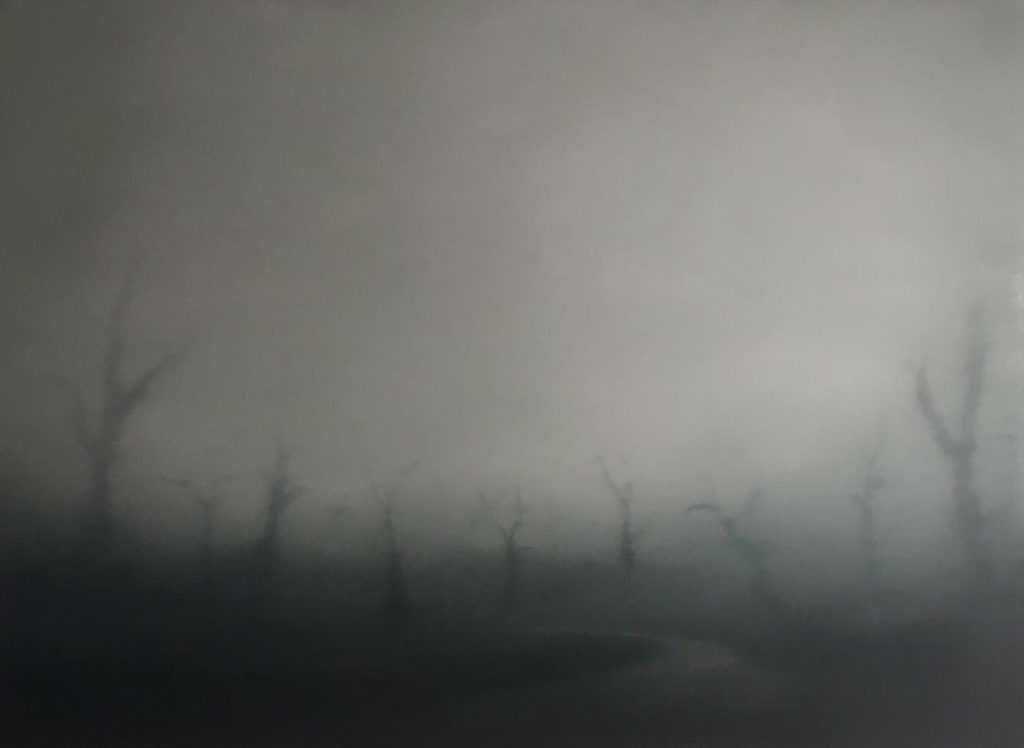 T#135-2019, oil on canvas, 100x140cm