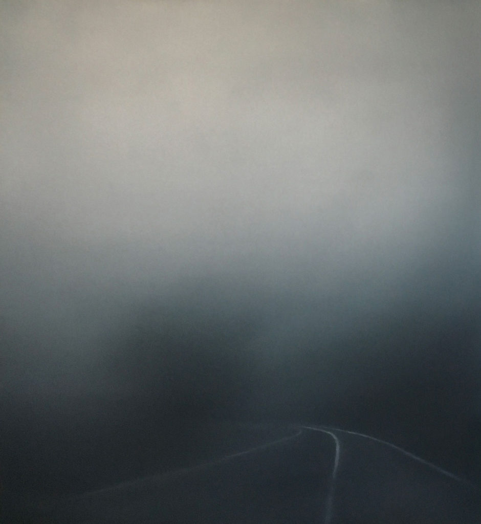 T#142-2019, 80x73cm, oil on canvas
