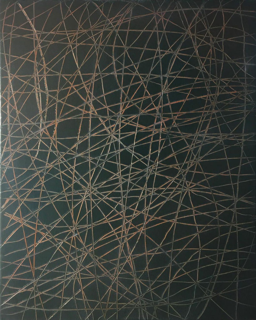 AB#07-2019, 50x40cm, oil on canvas