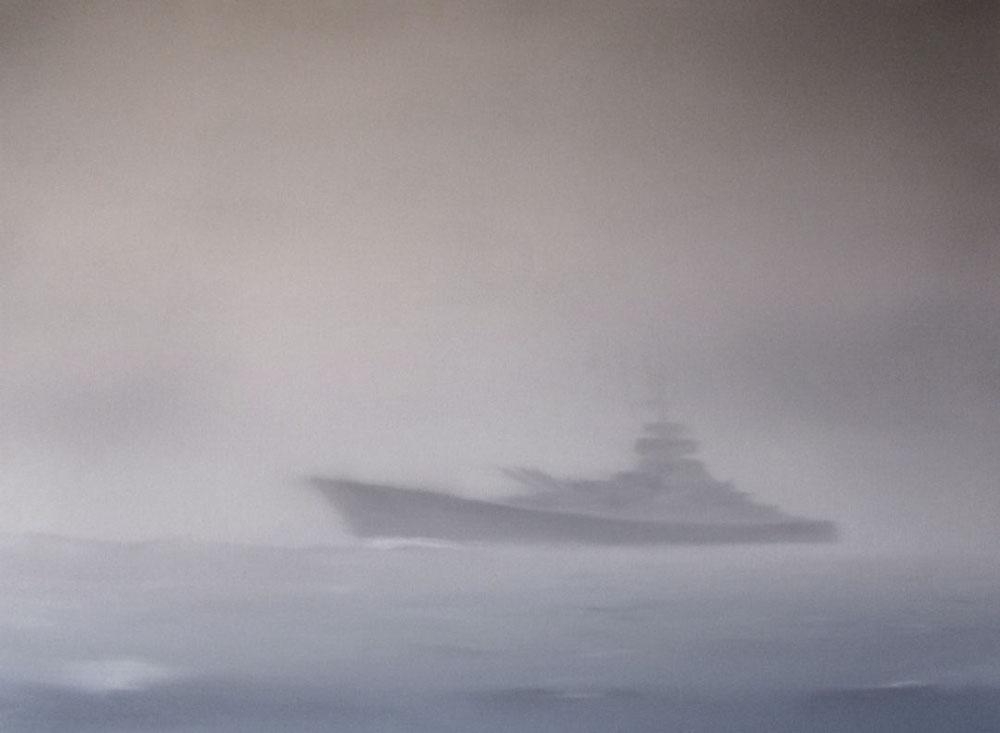 BISMARCK#02-2011, 70x100cm, oil on canvas