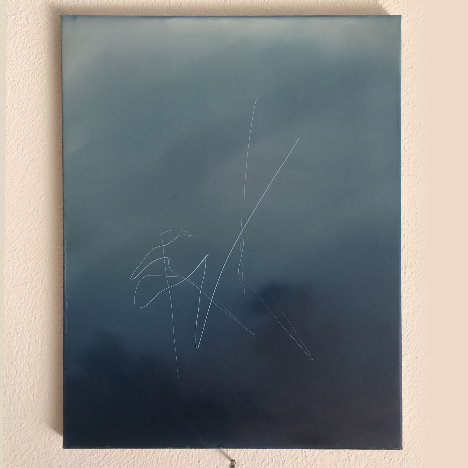 T#195-2020, oil on canvas, 50x40cm, priv. coll.