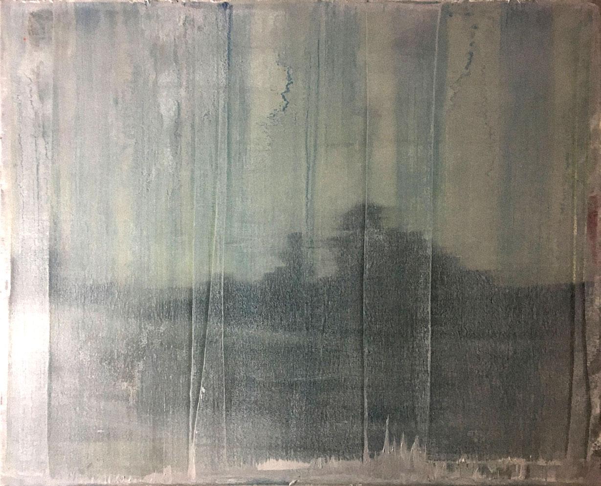 W#120-2009, 50x60cm,  oil on canvas,