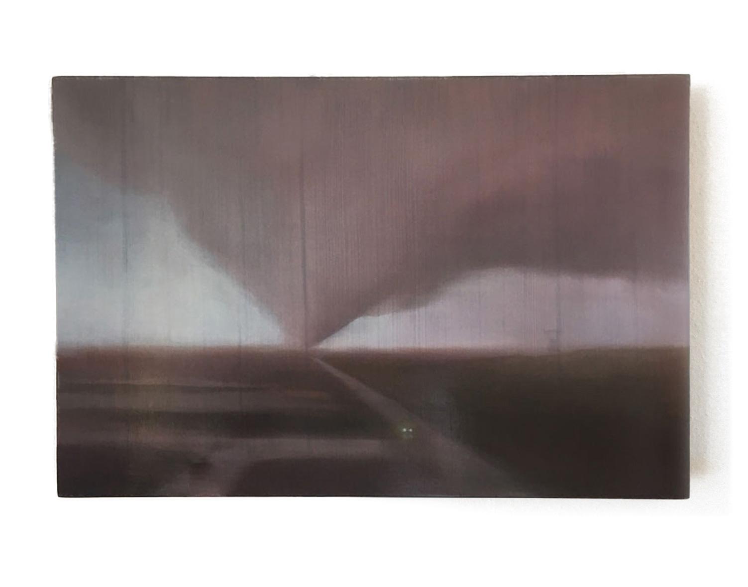 AU#186-2020, 38x38cm, charcoal, gesso, oil on panel