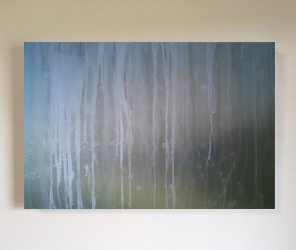 Noise01-80x120cm oil and solvent on canvas
